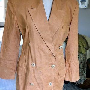 Vintage Linda Allard for EllenTracy. Linen Jacket